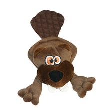 Hear Doggy Flat Dog Toy - Beaver