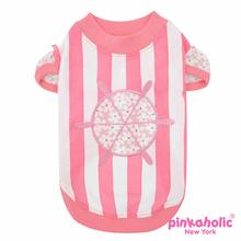 Helm Dog Shirt by Pinkaholic - Pink