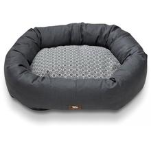 Hemp Bumper Dog Bed - Coal