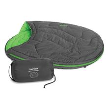 Highlands Sleeping Bag Dog Bed by RuffWear - Meadow Green