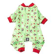 Holiday Dog Pajamas by Petrageous - Green
