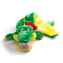 Holiday Gator Dog Toy