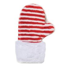 Holiday Mitten Cat Toy - Red