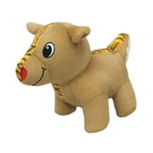 Holiday Tiger Seamz Dog Toy - Reindeer