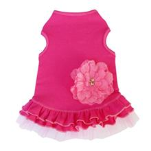 Hot Pink Flower Dog Dress by I See Spot