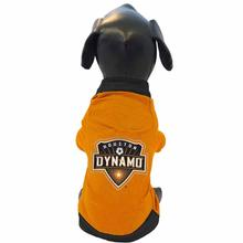 Houston Dynamo Athletic Mesh Dog Jersey