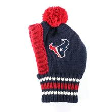 Houston Texans Knit Dog Hat