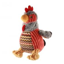 HuggleHounds Barnyard Knotties Dog Toy - Rocky the Rooster