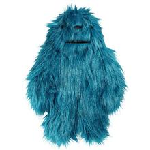 Hugglehounds Big Foot with Sole Dog Toy - Bright Blue