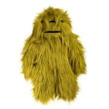 Hugglehounds Big Foot with Sole Dog Toy - Bright Green