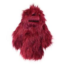 Hugglehounds Big Foot with Sole Dog Toy - Bright Purple