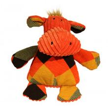 HuggleHounds Chubbie Buddies Hippo Dog Toy