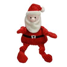 HuggleHounds Knottie Santa Dog Toy