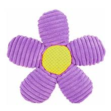 HuggleHounds Knotties in the Garden Dog Toy - Flower