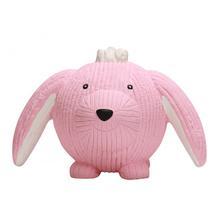 HuggleHounds Ruff-Tex Dog Toy - Bunny