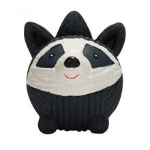 HuggleHounds Ruff-Tex Dog Toy - Raccoon