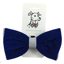 Huxley & Kent Hanukkah Bow Tie - Blue/Sliver