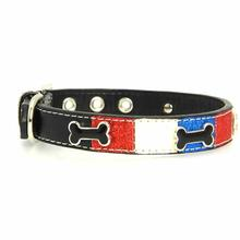 Ice Cream Dog Collar - Patriotic Bone