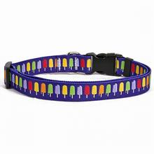 iDesign Popsicles Dog Collar by Yellow Dog
