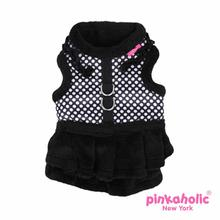 Imperial Flirt Dog Harness by Pinkaholic - Black