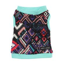 Indie and Teal Drew Dog Tank by Penn + Pooch