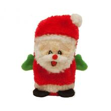 Invincible Holiday Santa Mini Dog Toy