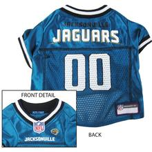 Jacksonville Jaguars Officially Licensed Dog Jersey - Teal