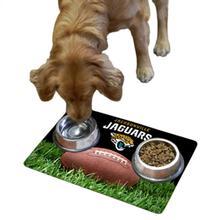 Jacksonville Jaguars Pet Bowl Mat