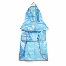 Jelly Dog Raincoat by Dogo - Blue