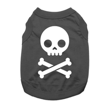Jolly Roger Dog Shirt - Black