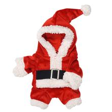 Jolly Santa Suit Dog Costume
