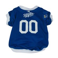 Kansas City Royals Baseball Dog Jersey - Blue