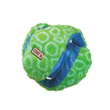 KONG Funzler Ball Dog Toy - Green and Blue
