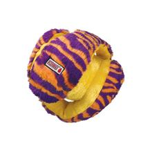 KONG Funzler Ball Dog Toy - Orange and Purple