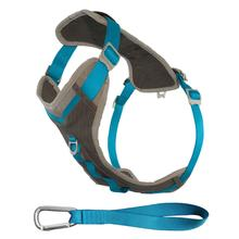Kurgo Journey Dog Harness - Blue and Charcoal
