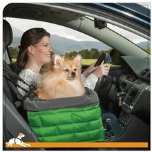 Kurgo Loft Dog Booster Seat - Green