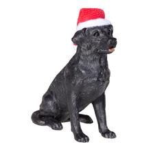 Labrador Retriever Christmas Ornament - Black