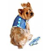 Cool Mesh Dog Harness - Blue Ladybug