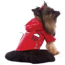 Lady Bug Raincoat - Red