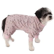 Lazy Bones Dog Pajamas - Pink