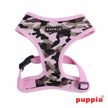 Legend Adjustable Dog Harness by Puppia - Pink Camo