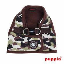 Legend Dog Harness Vest by Puppia - Brown Camo