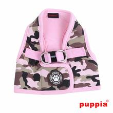 Legend Dog Harness Vest by Puppia - Pink Camo