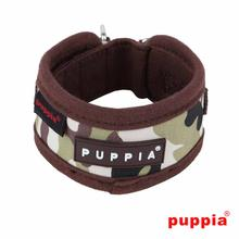 Legend Dog Neckguard by Puppia - Brown Camo