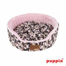 Legend House Dog Bed by Puppia - Pink Camo