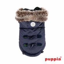 Lewis Dog Coat by Puppia - Navy