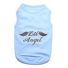 Lil Angel Dog Tank by Parisian Pet - Blue