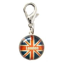 London Bubble Dog Collar Charm