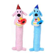 Loofa Birthday Dog Toy