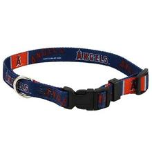 Los Angeles Angels Baseball Printed Dog Collar
